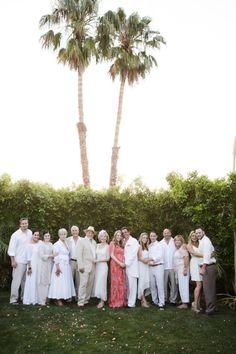 The bride wore red.  Everyone else (including all the guests!) wore white.