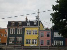 Downtown St. John's St John's, Newfoundland, Saints, Scenery, Multi Story Building, Canada, Santos, Paisajes, Landscape