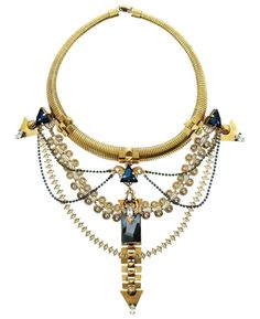 Erikson Beamon Swarovski crystal necklace   This necklace could make any outfit come alive!