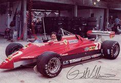 F1 Ferrari 126c2 82 n.27 Gilles Villenueve epoca t1