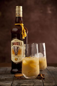 """At night, we drink Amarula"""