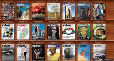 Indwe Magazine Newsstand available from indwemag.blogspot.com December 2013, Magazine, Baseball Cards, Free, Warehouse, Newspaper