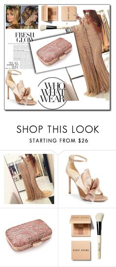 """""""Untitled #58"""" by jasna91 ❤ liked on Polyvore featuring Jimmy Choo, Bobbi Brown Cosmetics and Who What Wear"""