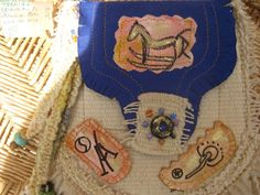 Adorable CrOSS Body Bag WamPUM made by Patrica by PatsyTexasRose, $45.00
