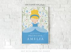 Printable Cinderella Pin the Crown on the Princess, Editable Princess Cinderella Party Decor, Cinderella Birthday Party Game, 0106 Cinderella Party Games, Cinderella Birthday, The Crowns Game, Birthday Party Games, 3rd Birthday, Custom Stationery, Dinosaur Party, Backdrops For Parties, Party Printables