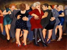 Welcome to the Beryl Cook shop. We stock the definitive collection of Beryl Cook Limited editions and other Beryl Cook prints. Beryl Cook, Local Painters, Dance Paintings, Pastel Paintings, Canvas Paintings, Plus Size Art, English Artists, British Artists, Famous Artists