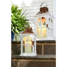 Hochwertig 20 In. Wood Lantern With Metal Top 14013M   The Home Depot