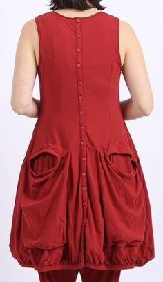 rundholz black label - Tunika Jersey Stretch mit Taschen strawberry - Sommer 2016 - stilecht - mode für frauen mit format...