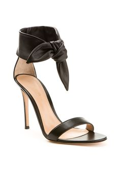 bd94cb880b6b Gianvito Rossi Sandals    Gianvito Rossi Bandana black leather sandals