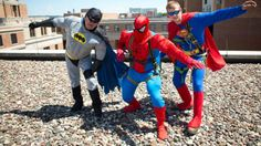 Meet the Window Washers That Transform Into Superheroes for Sick Kids