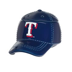 """TEXAS RANGERS™ MLB SCENTSY WARMER It's hats off to America's favorite pastime with our NEW Major League Baseball™ Collection. These officially licensed warmers are """"stitched"""" with your team's logo and look great next to the game ball on your shelf. Major Baseball, Texas Baseball, Baseball Cap, Baseball Gifts, Baseball Season, Mlb, Scentsy Wax Warmer, Scentsy Bar, Wax Warmers"""