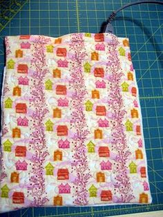 heating pad cover tutorial