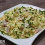 Zelerový šalát Potato Salad, Food And Drink, Potatoes, Meat, Chicken, Ethnic Recipes, Potato, Cubs