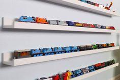 Как организовать хранение игрушечных машинок аккуратно и красиво? Ищем вдохновение для хранения игрушек на сайте «Монтессори.Дети».