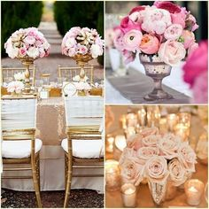 1000 images about centros de mesa on pinterest mesas for Mesas de bodas decoradas