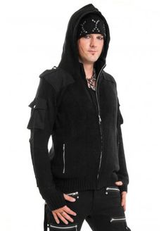 Vixxsin Damned Knit Hood, £49.99