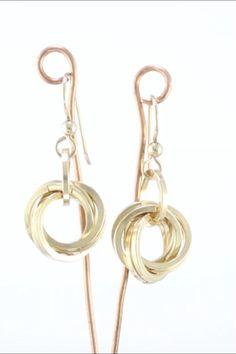 Metal Jewelry, Gold Jewelry, Women Jewelry, Flower Earrings, Dangle Earrings, Women's Casual, Cows, Jewelry Stores, Dangles