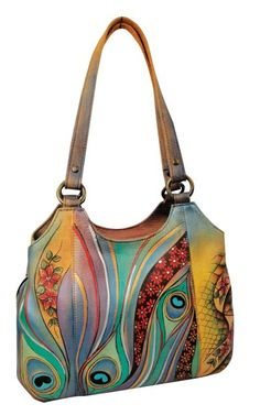 "Anuschka Handbags-Katie has infected me with the expensive purse virus; I thought ""$255, not bad."""
