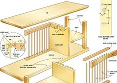 Image result for oak plate rack dimensions