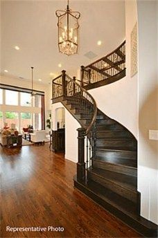Love this layout. beautiful staircases | beautiful staircase | Dream House Ideas