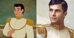 Como seriam os príncipes da Disney se fossem pessoas reais