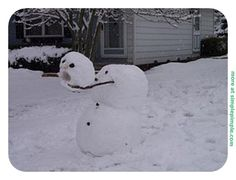 35 Creative, Funny Snowman Pictures for Winter Fun - Snappy Pixels Snowman Photos, Snowmen Pictures, Funny Christmas Pictures, Funny Pictures, Snowmen Ideas, Snow Much Fun, Winter Fun, Winter Time, Winter Snow
