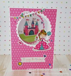 Party Princess - Whiz Kids by design team member Lyndsey Craftwork Cards, Card Drawing, Team Member, Paper Hearts, Aperture, Kids Cards, Princess Party, Envelopes, I Card