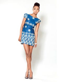The Gemini Collection: Batik Dress. Sika Designs. Stylish and wearable clothing inspired by the rich and diverse culture of Ghana.
