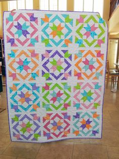 The Fleming's Nine: Star Light Star Bright Quilt-A-Long Finished!
