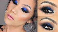 Bold Blue Eye  Makeup I Urban Decay X Gwen Stefani Palette