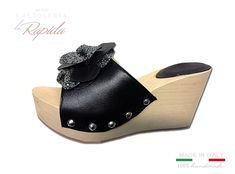 ► Zeppe donna in legno   100% Made in Italy   LA RAPIDA Cork Wedges, Ciabatta, Estate, Ipod Touch, Shoes, Fashion, Crochet Flowers, Moda, Zapatos