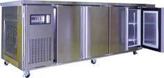 CHANNON 3 Solid Door Underbench Fridge - CH2121 | Channon