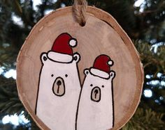 Wood burned Christmas Ornaments and Easter eggs by BurnwoodCreations Crafts To Do, Holiday Crafts, Wood Crafts, Rustic Christmas, Christmas Art, Christmas Decorations, Wood Ornaments, Personalized Christmas Ornaments, Theme Noel