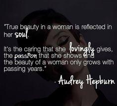 Audrey Hepburn #truebeauty #beauty #quotes