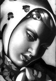 Girl with Scarf  Tamara de Lempicka