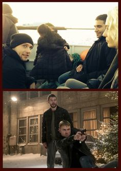 Max Riemelt  (Sense8 / season2) .. @sense8: Our story continues. A Christmas Special: December 23, 2016. 10 new episodes: May 5, 2017.