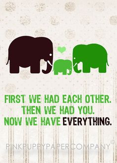 Elephant Baby Love