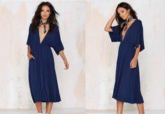 DIY// HOW TO MAKE A  KIMONO DRESS (EASY SEWING)