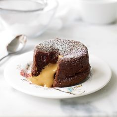 More decadent than molten chocolate cake: one filled with warm peanut butter, reveals F&W's Grace Parisi.   More Gooey Desserts ...
