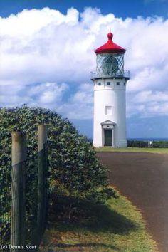 Kilauea Point Lighthouse in Kilauea, Hawaii