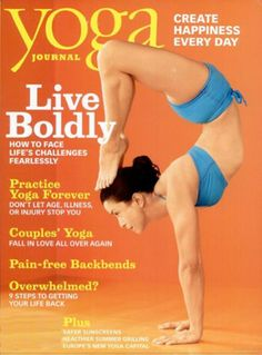 Yoga Journal magazine is an excellent resource for yogis of all experience levels