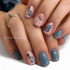 Fall nail art designs are all unique and special, and you are bound to be aware of all the versatility available. Best autumn manicure ideas are here at your disposal! Fall Gel Nails, Autumn Nails, Cute Fall Nails, Simple Fall Nails, Nails Today, Nagellack Design, Fall Nail Art Designs, Nail Designs Floral, Different Nail Designs