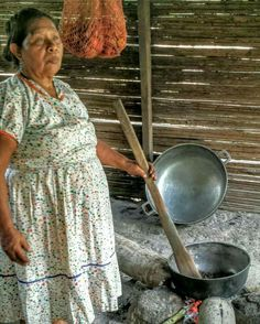 #ngöbe #woman #comarca #panama #coffee