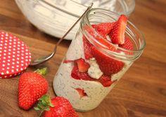 Reggeli gyümölcsös chiajoghurt