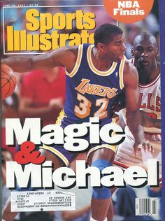 Image Detail for - Michael Jordan Magic Johnson June 10, 1991 Sports Illustrated Magazine