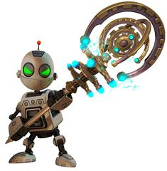 Clank from Ratchet & Clank Future: A Crack in Time