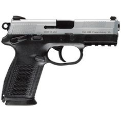 """FNH FNX Handgun - One of MY Pistols, fitted with laser and spotlite..""""the better to see you in the dark"""" Mr or Ms intruder!"""