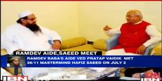 Ramdev's aide interview Hafiz Saeed; Issue rocks Indian parliament - http://www.sikhsiyasat.net/2014/07/14/ramdevs-aide-interview-hafiz-saeed-issue-rocks-indian-parliament/