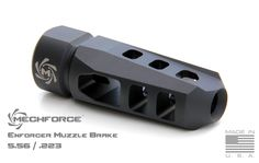 Mechforce USA based out of Texas are newcomers to the firearms accessory market, they actually started out in the aerospace and energy business. Being gun enthusiasts they decided to use their knowledge and experience to produce high quality firearms parts. One of their product lines is their Enforcer muzzle brakes. They're available for both 1/2-28 … Read More …