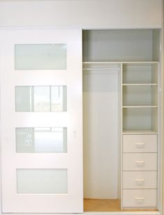 wardrobe storage (shelves and drawers)
